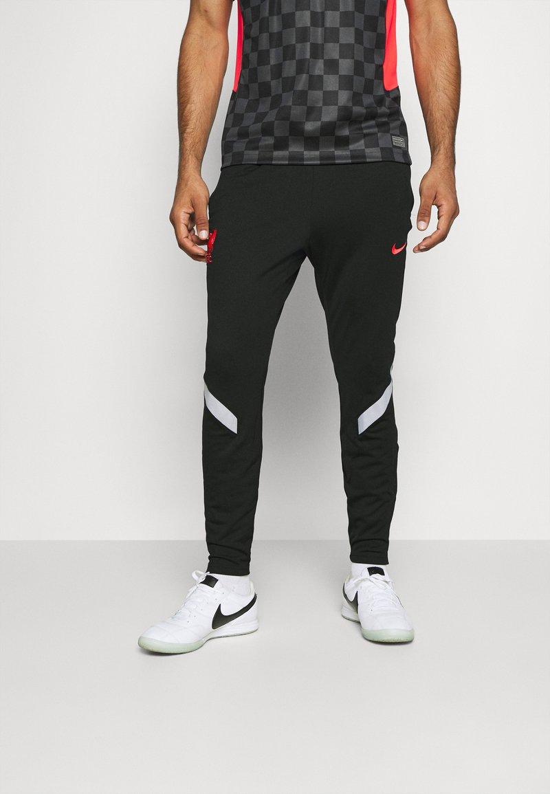 Nike Performance - LIVERPOOL FC DRY  - Club wear - black/wolf grey/laser crimson