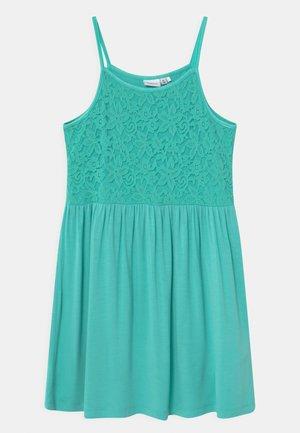 NKFBEOLIVIA - Jersey dress - pool blue