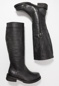 Felmini Wide Fit - COOPER - Vysoká obuv - lavado black - 3