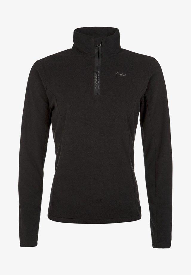 MUTEY - Fleece jumper - true black