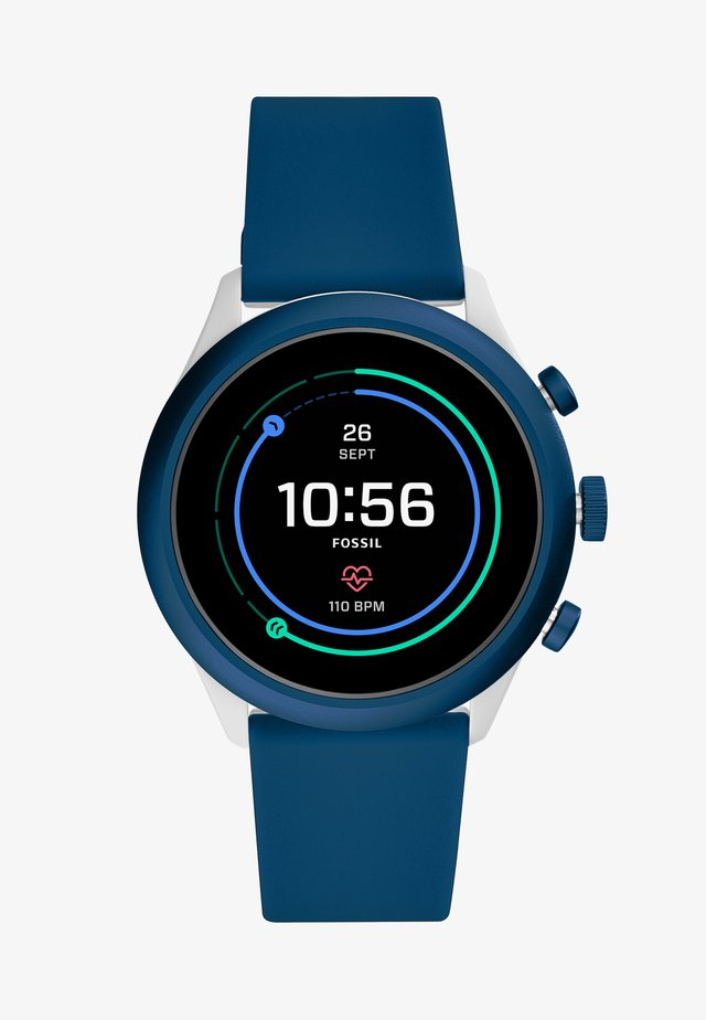 SPORT  - Smartwatch - blue/grey