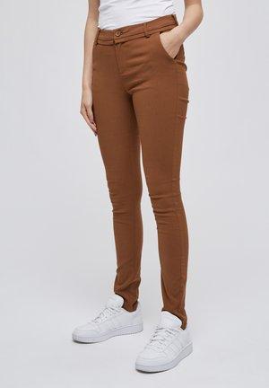CARMA  - Trousers - walnut brown