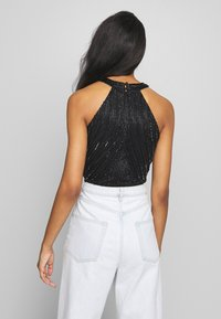 Lace & Beads - ROSETTE - Top - black - 2