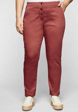 Pantalon classique - marsala