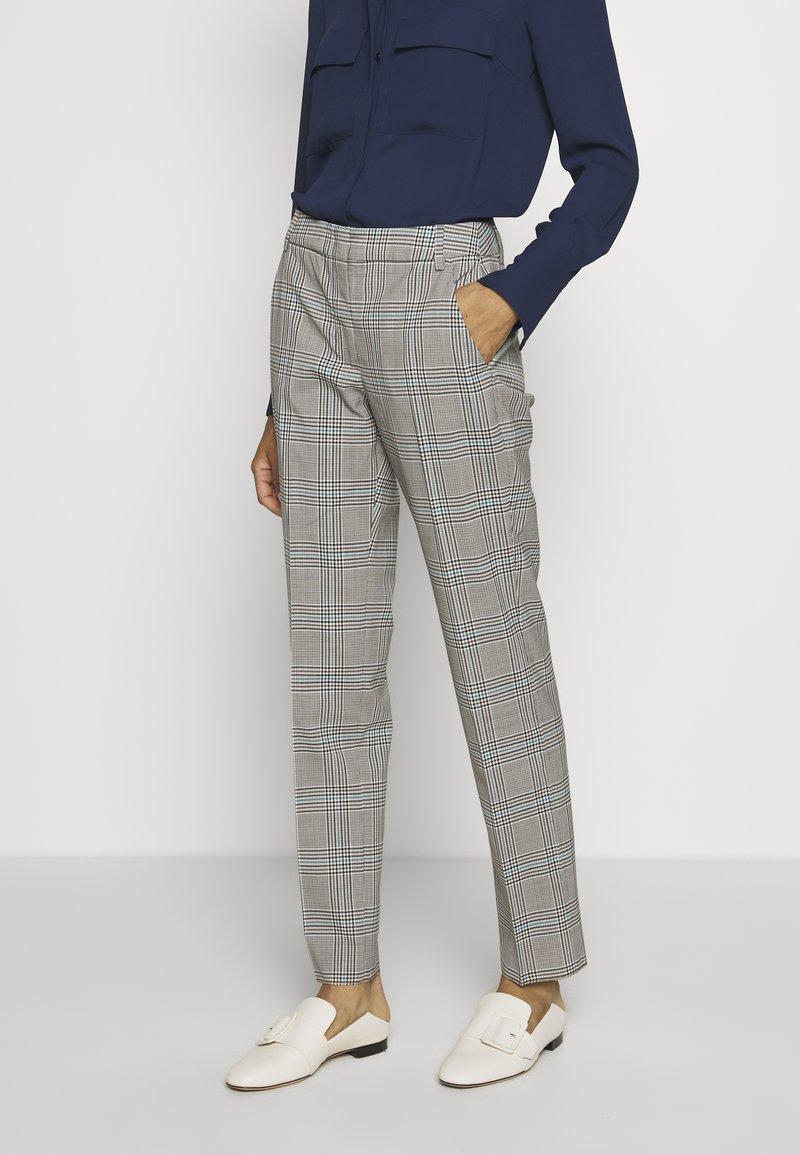 WEEKEND MaxMara - CINGHIA - Trousers - galles bianco/nero/marrone
