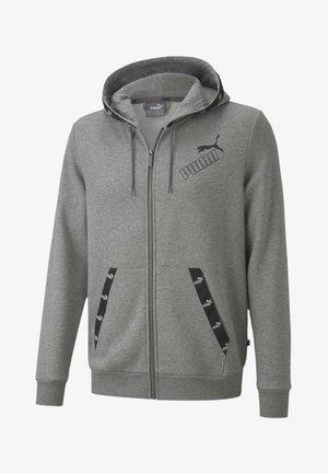 Sweatjacke - medium gray heather