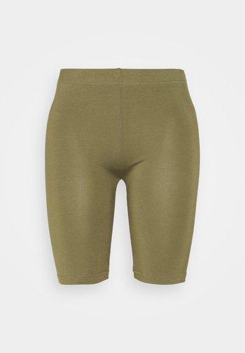 ESSENTIAL - Shorts - burnt olive