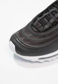 Nike Sportswear - AIR MAX 97 UNISEX - Sneakersy niskie - black/white - 2
