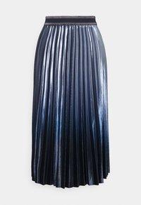 comma casual identity - Plisovaná sukně - blue - 0
