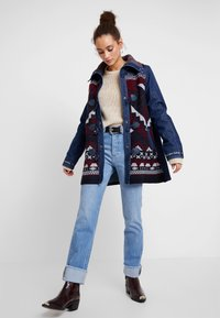 Desigual - CHAQ NAVAI - Manteau court - denim dark blue - 1