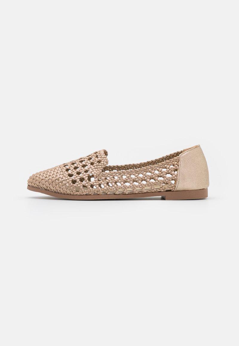 Head over Heels by Dune - GRACEYN - Ballerinat - gold/plain