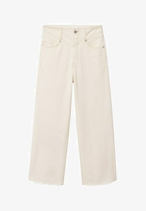 JULIETA - Flared Jeans - ecru
