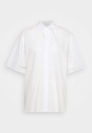 LINN - Button-down blouse - white