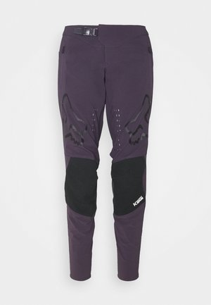 DEFEND PANT - Stoffhose - dark purple