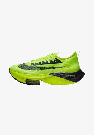 AIR ZOOM ALPHAFLY NEXT% FLYKNIT - Chaussures de running neutres - gelb/blau