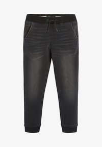 Next - SUPER  - Relaxed fit jeans - black denim - 0