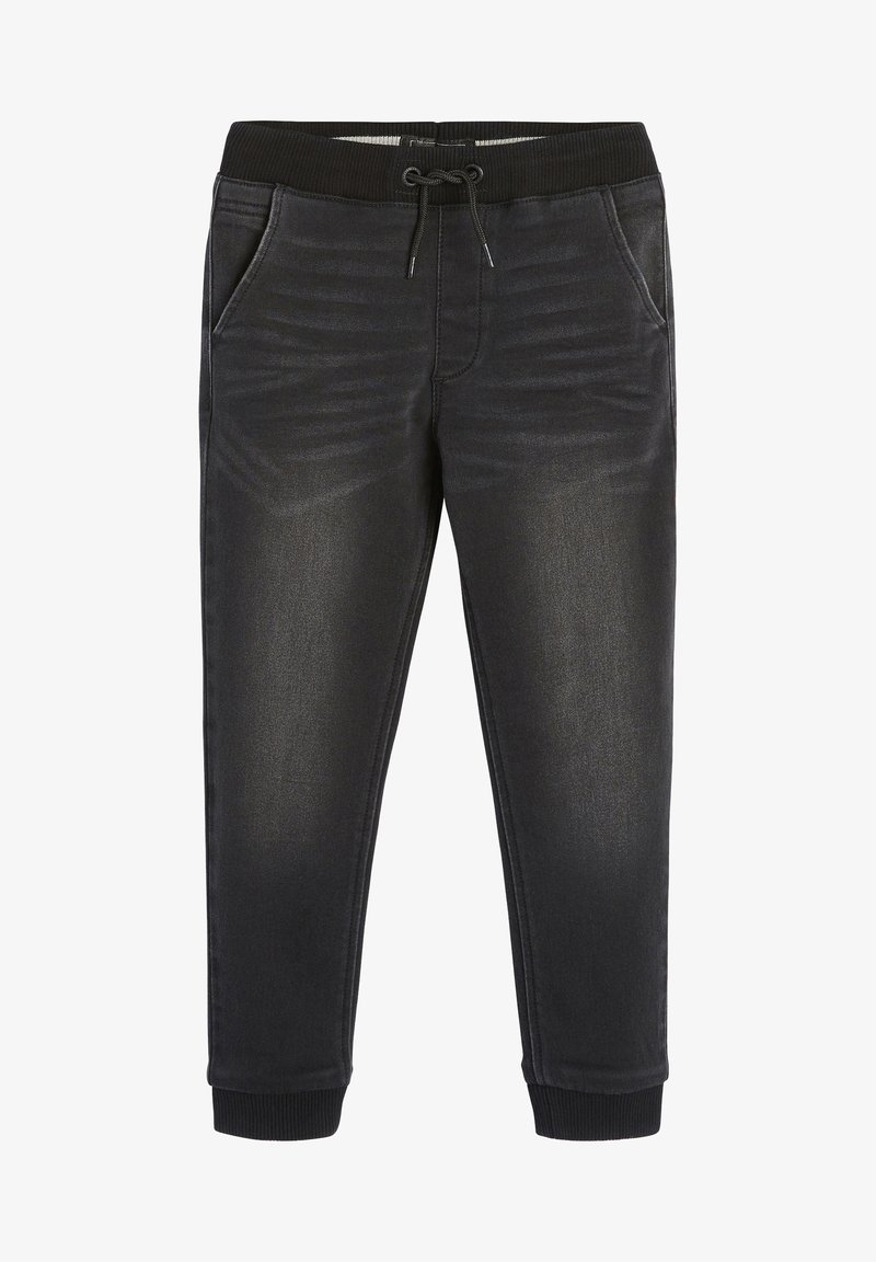 Next - SUPER  - Relaxed fit jeans - black denim