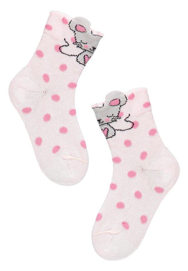 Socks - polso sport glitter grigio