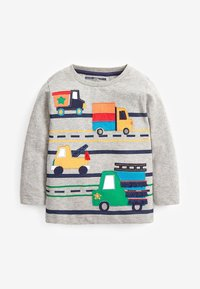 Next - 3 PACK APPLIQUÉ TRANSPORT - Long sleeved top - multi-coloured - 1