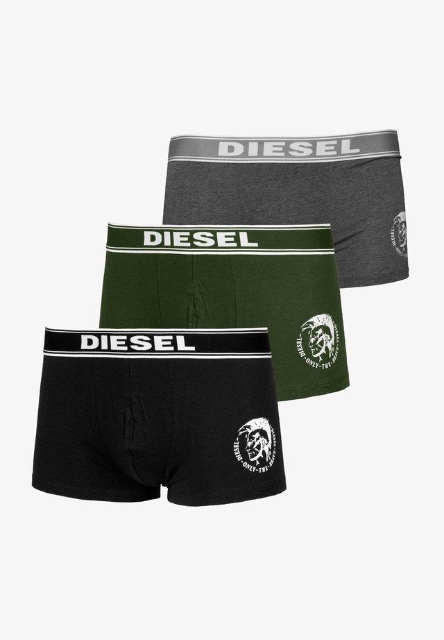 SHAWN - Pants - green-black-grey