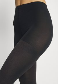 FALKE - FALKE TARNISH 100 DENIER LEGGINGS BLICKDICHT GROB SCHWARZ - Leggings - Stockings - black - 2