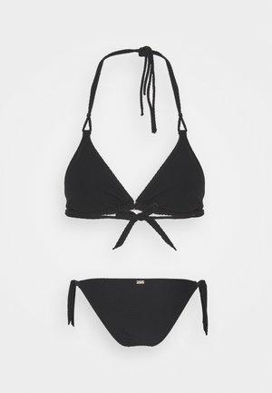 YERO DASIA ROMEO SET - Bikini - noir