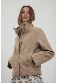 b.young - BYBELLA  - Light jacket - tannin melange - 0