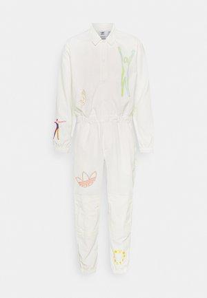 LOVE UNITES UNISEX - Jumpsuit - off white/multicolor
