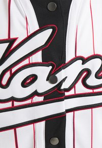 Karl Kani - VARSITY BLOCK BASEBALL - Shirt - black - 5