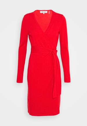 NEW LINDA  - Jumper dress - pop red