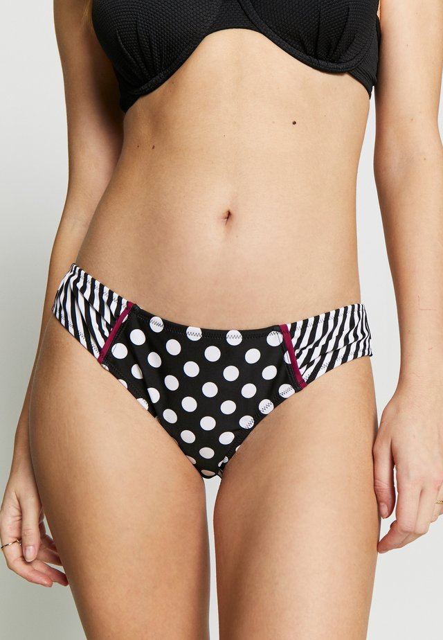 SEA BREEZE TAB BRIEF - Bikini pezzo sotto - black