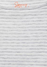 Street One - MIT STREIFEN - Long sleeved top - grau - 4
