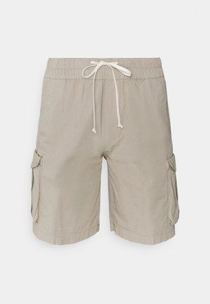 DOUBLE - Shorts - beige