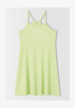 REGULAR FIT  - Vestido ligero - green