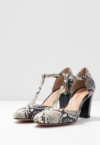 PERLATO - Classic heels - grigio/jamaica noir - 4