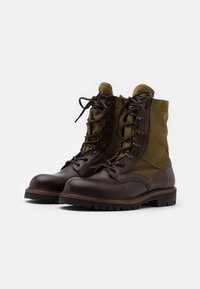 Belstaff - TROOPER BOOT - Bottines à lacets - cognac - 1