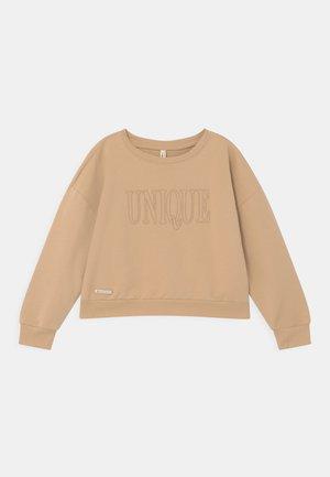 GIRLS UNIQUE  - Sweatshirt - beige reactive