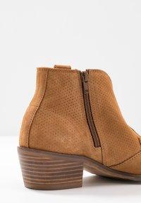 MAHONY - BILBAO - Ankle boots - cognac - 2