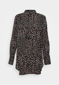 comma - Button-down blouse - black - 0