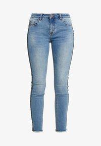 Steffen Schraut - CHERYL GLAM STRIPE PANTS - Jeans Slim Fit - cool denim - 4