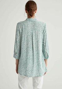 DeFacto - Button-down blouse - turquoise - 2