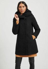 Vila - Classic coat - black - 0