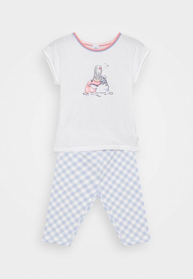 MINI SHORT PRINT - Pyjama - white