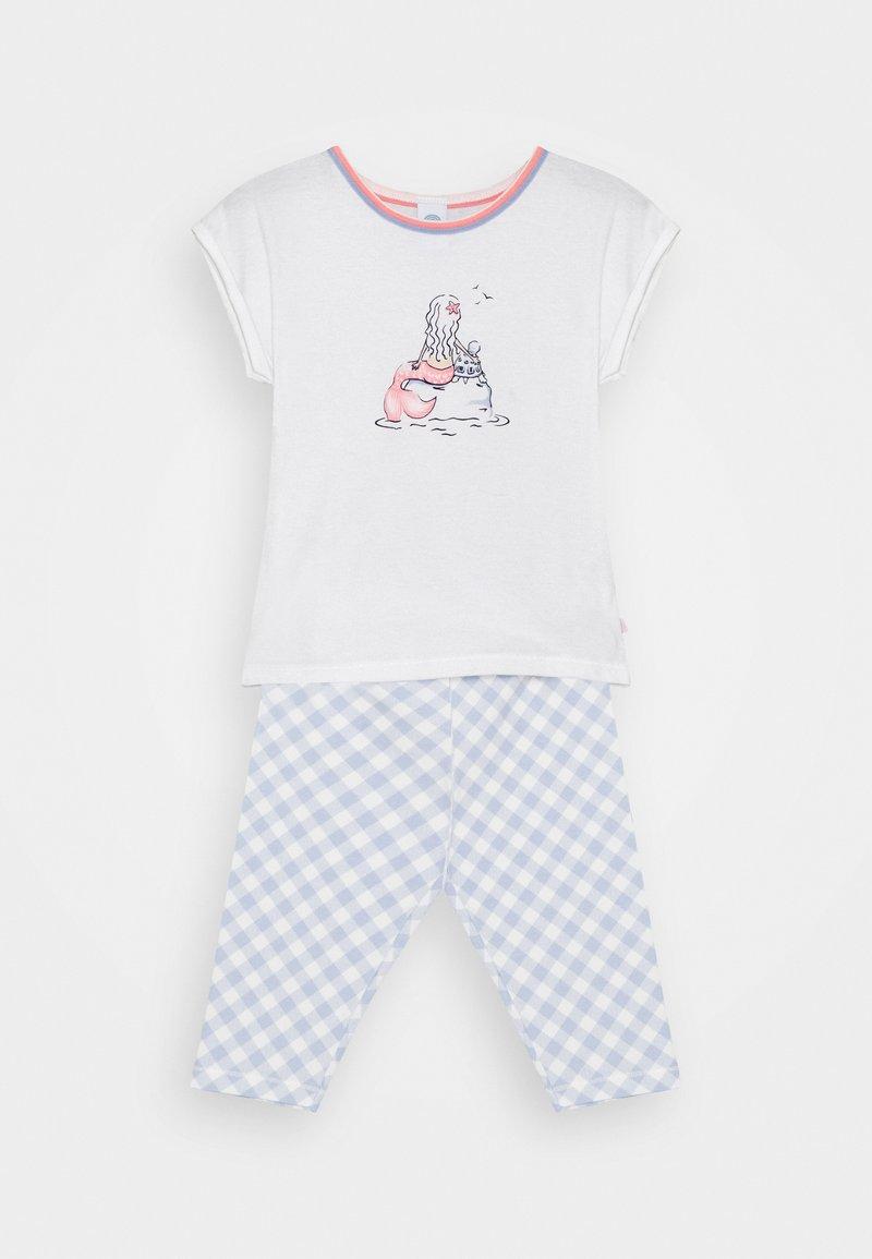 Sanetta - MINI SHORT PRINT - Pyžamo - white