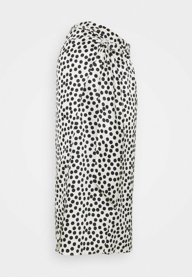 Topshop Maternity - SPOT PRINT SARONG - Pouzdrová sukně - mono