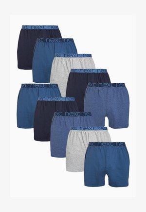 LOOSE FIT TEN PACK - Boxer shorts - blue
