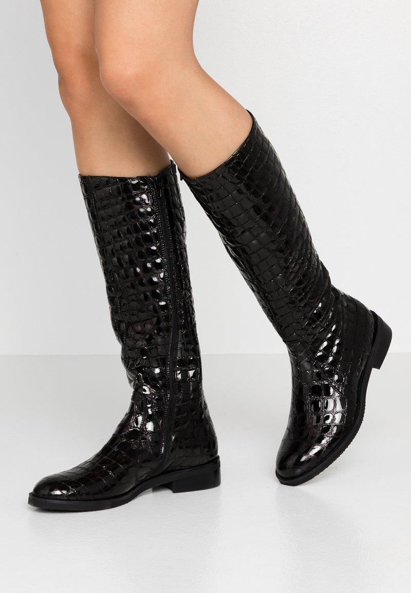 UMA PARKER - Vysoká obuv - nero
