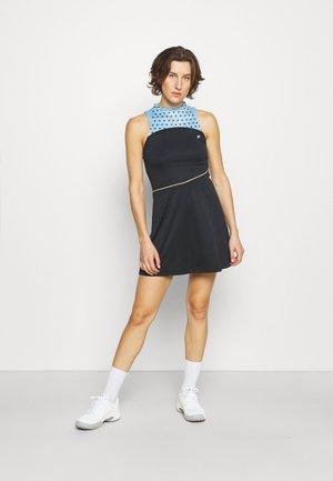 DRESS AURELIA - Sports dress - black