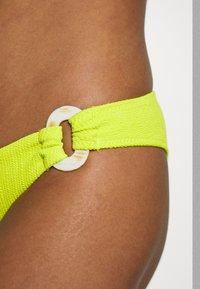 Topshop - CRINKLE RING CLASSIC PANT - Bikiniunderdel - yellow - 4