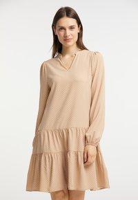 usha - Day dress - beige - 0